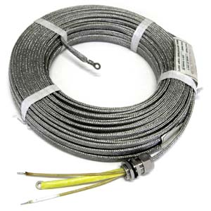 termomax are constant wattage heat tracers with one circuit of multistrand-heating  elements insulated with ptfe  the entire tracer is stainless steel wire
